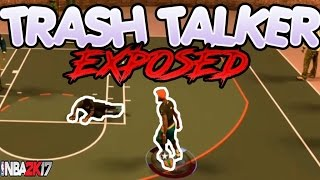 getlinkyoutube.com-NBA 2K17 Trash Talker Exposed | Clout Chaser Exposed | 21 Points On His Head !?