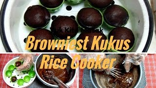 getlinkyoutube.com-Cara Membuat Browniest Kukus Rice Cooker Tanpa Mixer