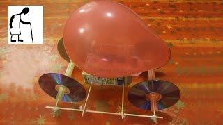 getlinkyoutube.com-Lets make a Balloon Jet Car #3
