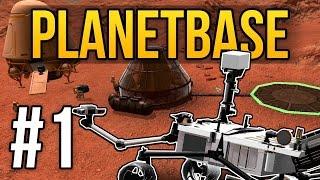 getlinkyoutube.com-Planetbase Gameplay - Ep. 1 - SPACE COLONY ★ Let's Play Planetbase! (Planetbase Gameplay)