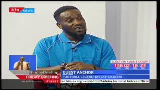 Friday briefing: Up close and candid with football legend Jay Jay Okocha part 2