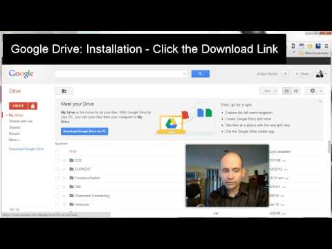 How to Install Google Drive - Screencast
