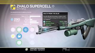 getlinkyoutube.com-Zhalo Supercell GAMEPLAY (shooting the exotic autorifle)