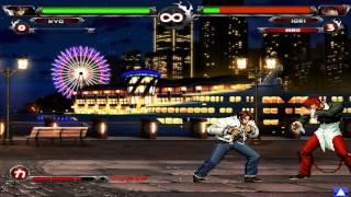 getlinkyoutube.com-How To Unlock New Kyo Kusanagi In KOF Wing EX v1.0