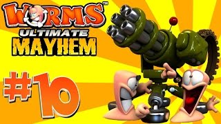 getlinkyoutube.com-[10] Super Weapons! (Worms Ultimate Mayhem)