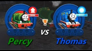 Thomas & Friends: Go Go Thomas! – Percy VS Thomas