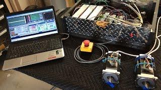getlinkyoutube.com-DIY CNC Controller - Smooth Stepper - DM860A - Mach3