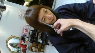 getlinkyoutube.com-【warphair森泉】グリーングリーン女子の刈り上げ&短髪前髪