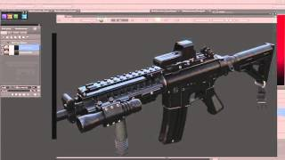 getlinkyoutube.com-DDO Painter Weapon texturing with Paul Bannon