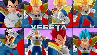 getlinkyoutube.com-Vegeta Prince all form (HQ)|Dragon Ball Z Budokai Tenkaichi 3