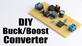 getlinkyoutube.com-DIY Buck/Boost Converter (Flyback) || How to step up/down DC voltage efficiently