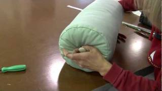 getlinkyoutube.com-How to Make Neckroll Pillow Covers or Bolster Pillow Covers