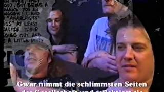 getlinkyoutube.com-Gwar unmasked Interview, ca. 1997