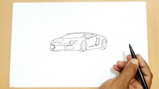 getlinkyoutube.com-How to Draw a Lamborghini