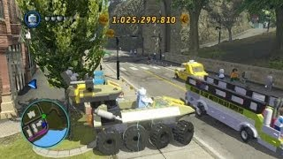 getlinkyoutube.com-LEGO Marvel Super Heroes - Unlocking Hydra Tank + Gameplay (Vehicle Token Location)