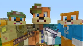 getlinkyoutube.com-Minecraft Xbox - Survival Madness Adventures - Squirrel VS Squirrel [240]