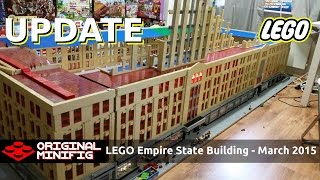getlinkyoutube.com-LEGO Empire State Building Project - March 2015 Update