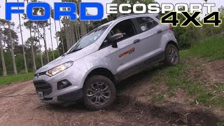 getlinkyoutube.com-Ford Ecosport 4X4 Freestyle Test - Routière - Pgm 289
