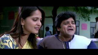 getlinkyoutube.com-Anushka Bathing Comedy Scenes  Souryam Movie - Gopichand, Anushka