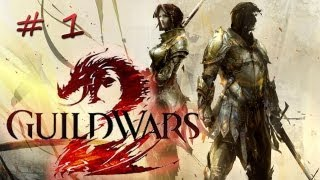 getlinkyoutube.com-First time play... Guild Wars 2 - Elementalist - Part 1 (Import from TwitchTV)