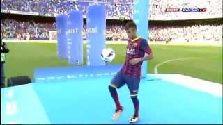 getlinkyoutube.com-Neymar's Presentation in Barcelona (FULL PRESENTATION)