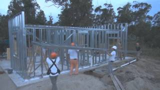 getlinkyoutube.com-Una vivienda en 30 días con steel framing
