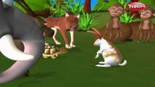 getlinkyoutube.com-The Hare and The Tortoise | हिंदी कहानी | 3D Moral Stories For Kids in Hindi | Moral Values in Hindi