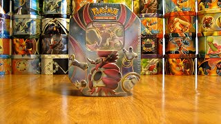 getlinkyoutube.com-Pokemon Hoopa EX Tin Opening