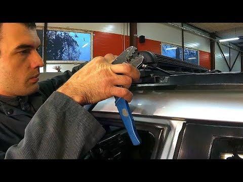Подключение LED BAR на Nissan X-Trail