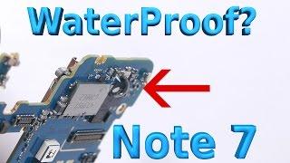 getlinkyoutube.com-What makes the Note 7 Waterproof? Ultimate Test!!