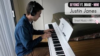 getlinkyoutube.com-Beyonce ft. Drake - Mine [Piano Cover + Sheet Music]