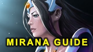getlinkyoutube.com-How To DOMINATE On Mirana - Dota 2 Mirana Guide (Gameplay and Commentary)