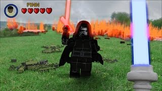 LEGO Star Wars The Force Awakens - First Person Jedi