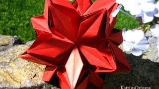getlinkyoutube.com-Origami ❃ Rafaelita ❃ Kusudama