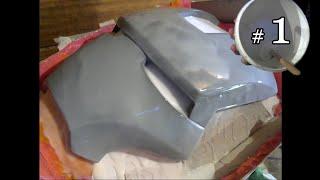 getlinkyoutube.com-Iron Man faceplate molde silicona # 1