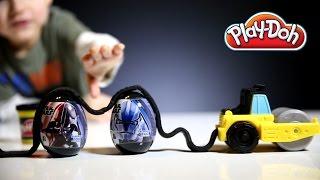 getlinkyoutube.com-Play-Doh: Diggin Rigs - Star Wars Surprise Eggs!
