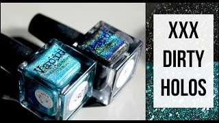 Vapid Lacquer XXX Dirty Holos | Sunshine and Live Swatches