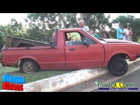 Guaraniaçu -  Acidente na BR 277 deixa uma pessoa ferida - Veja Fotos e vídeo