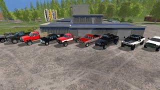 getlinkyoutube.com-Farming Simulator 2015 Mods-  A Lot of Trucks (Dodge Only)