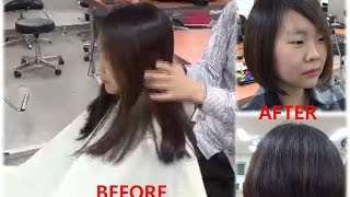 getlinkyoutube.com-Graduated Bob HairCut