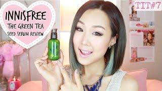 getlinkyoutube.com-INNISFREE Green Tea Seed Serum Review! ♥ 이니스프리 더 그린티 씨드 세럼 리뷰 | #TryItTuesday
