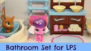getlinkyoutube.com-Fisher-Price Loving Family Dollhouse Bathroom Review (Using it for LPS)