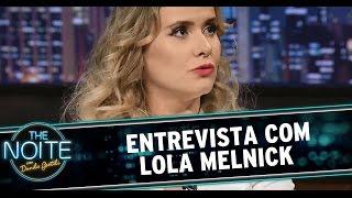 getlinkyoutube.com-The Noite (10/12/14) - Entrevista  Lola Melnick