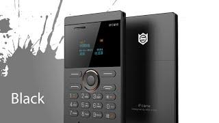 getlinkyoutube.com-iFcane E1 1inch Mini Cell Card Phone