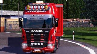 getlinkyoutube.com-Euro Truck Simulator 2 - Scania R420 Coca Cola Combo Pack