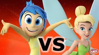 getlinkyoutube.com-Joy vs Tinker Bell sarlacc pit arena fight Disney Infinity toy box