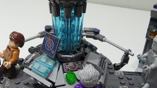 getlinkyoutube.com-Lego 21304 Ideas Doctor Who Stop Motion / Zeitraffer Aufbauvideo