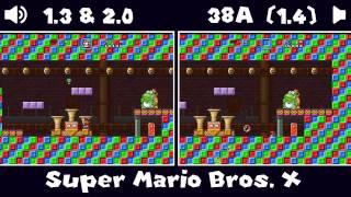 getlinkyoutube.com-Super Mario Bros. X (SMBX) - 1.3 & 2.0 VS 38A (1.4) Bosses