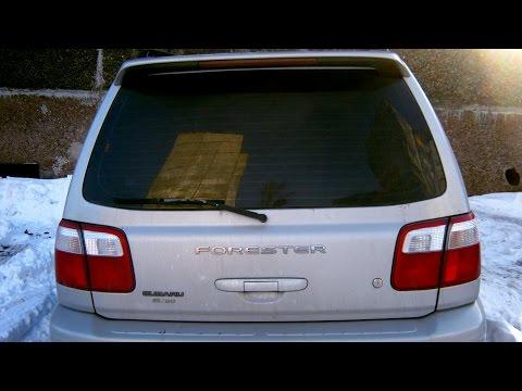 Гремит 5ая дверь? Решено! Subaru Forester SF.