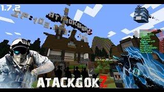 getlinkyoutube.com-Minecraft เซิฟ AtackGokZ : แนะนำเซิฟ MineZ ไหนๆขอยิงหน่อย [1.7.2]